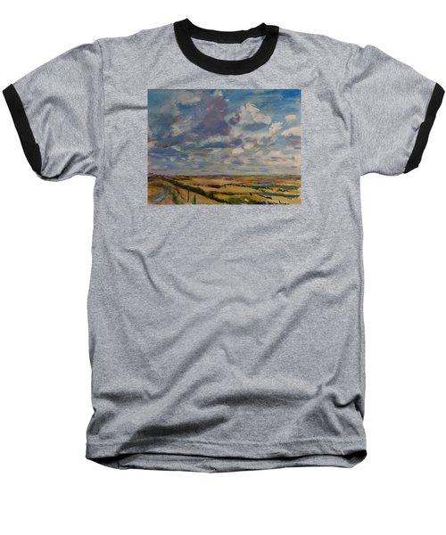 Skies Westward Baseball T-Shirt