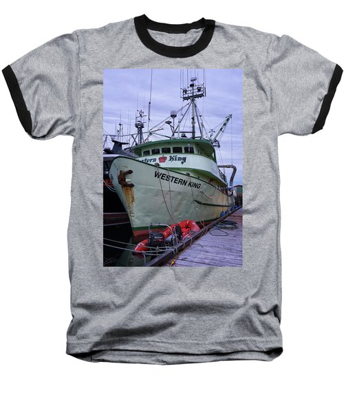 Baseball T-Shirt featuring the photograph Western King At Discovery Harbour by Randy Hall