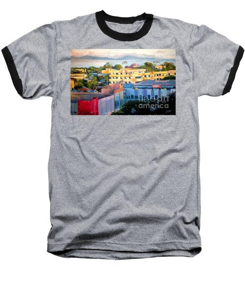 Western Part Of Sorong Town Baseball T-Shirt
