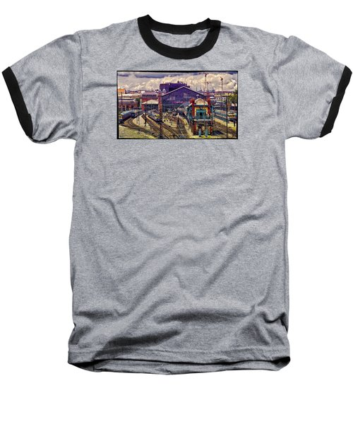 Western Rail Station, Budapest Baseball T-Shirt