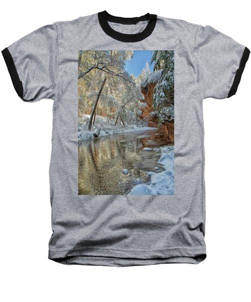 Westfork's Beauty Baseball T-Shirt by Tom Kelly