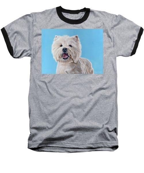 Westie Baseball T-Shirt