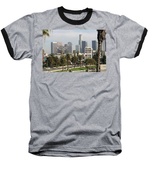 Westlake Theatre To Downtown La Baseball T-Shirt