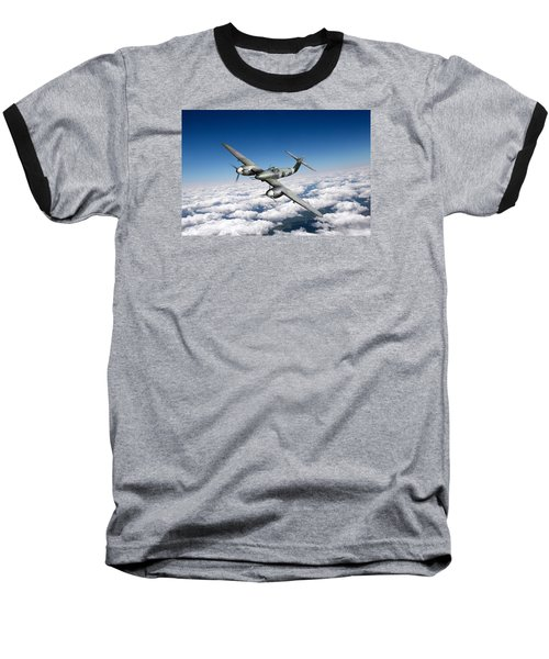Baseball T-Shirt featuring the photograph Westland Whirlwind Portrait by Gary Eason