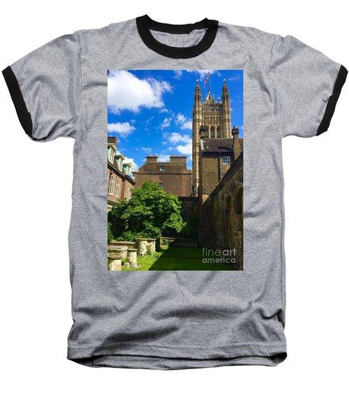 Westminster Abby Garden Baseball T-Shirt