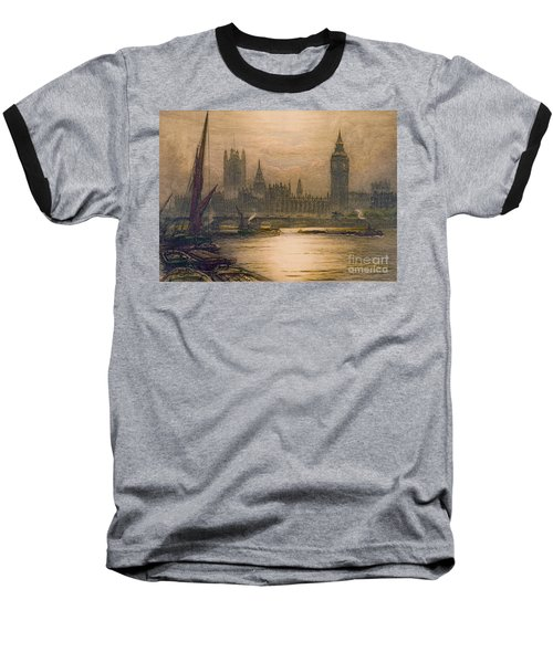 Westminster London 1920 Baseball T-Shirt by Padre Art