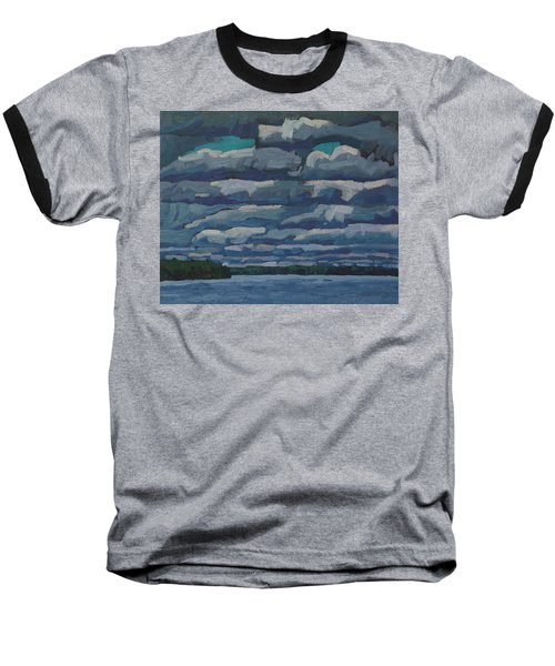 Westport Stratocumulus Virga Baseball T-Shirt
