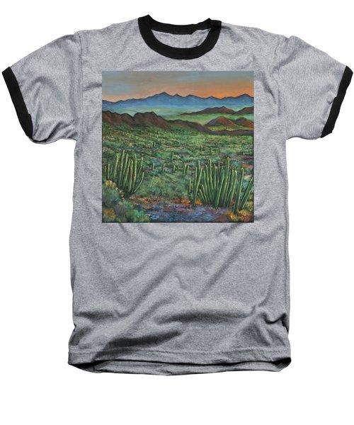 Westward Baseball T-Shirt by Johnathan Harris