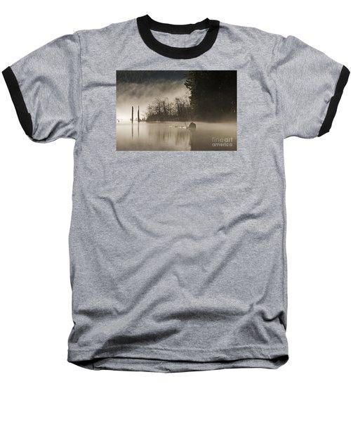 Baseball T-Shirt featuring the photograph Westwood Lake by Inge Riis McDonald