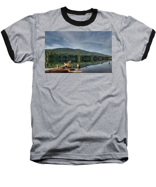 Baseball T-Shirt featuring the photograph Westwood Lake by Randy Hall