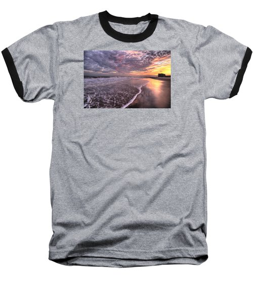Wet Boots Baseball T-Shirt by John Loreaux