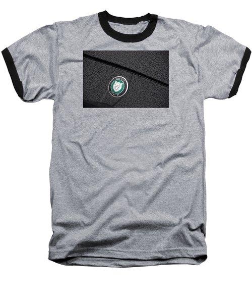 Wet Cat Baseball T-Shirt by John Schneider