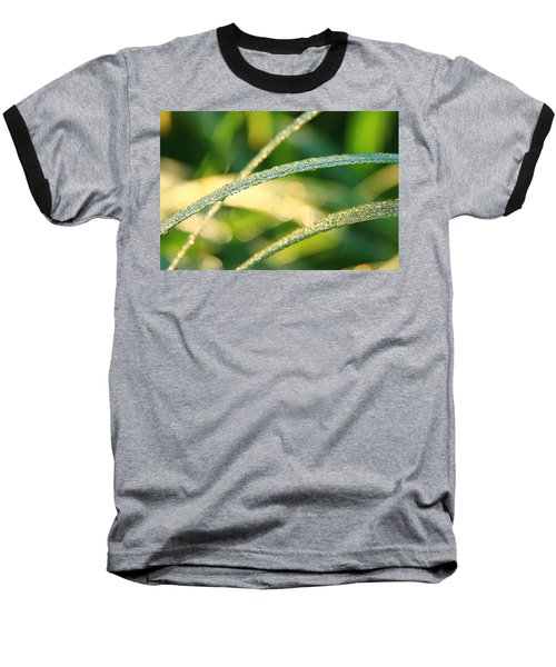 Wet Grass Baseball T-Shirt