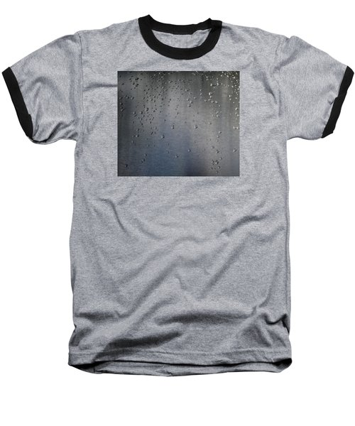 Baseball T-Shirt featuring the photograph Wet Stainless Steel by Lyle Crump
