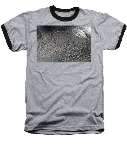 Wet Steel Baseball T-Shirt by Keith Armstrong