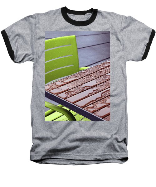 Wet Table Baseball T-Shirt by Christopher McKenzie