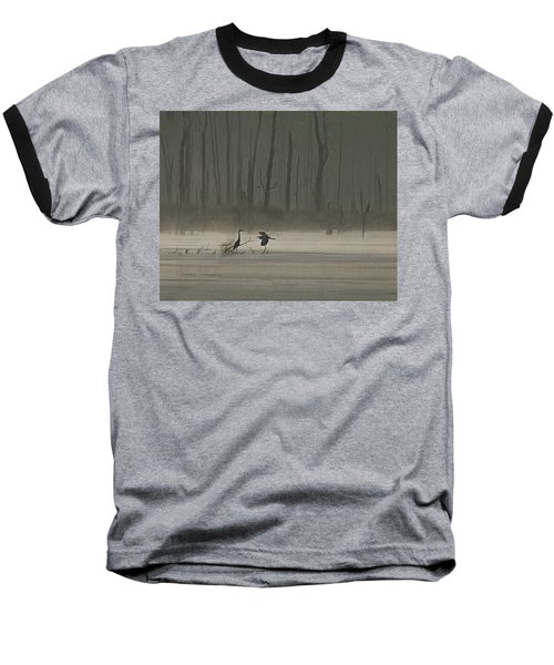 Wetlands Morning Baseball T-Shirt by Richard Engelbrecht