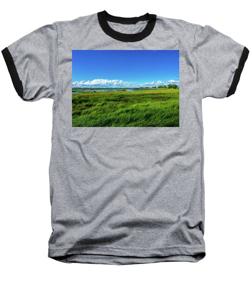 Wetlands On A Windy Spring Day Baseball T-Shirt