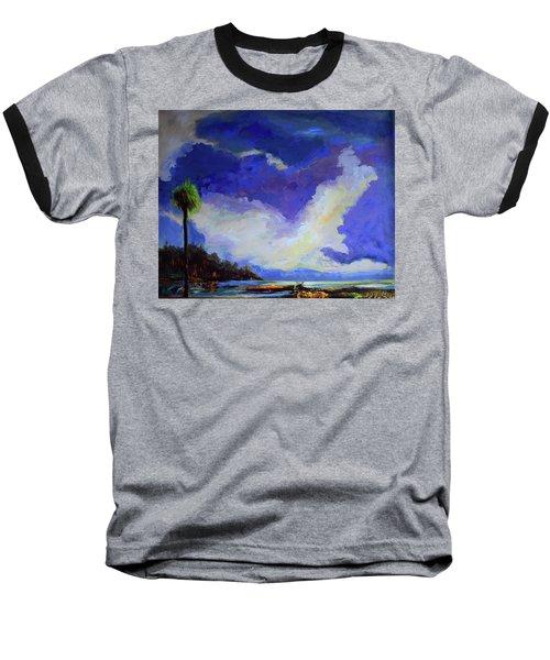 Wetlands Sky  Baseball T-Shirt