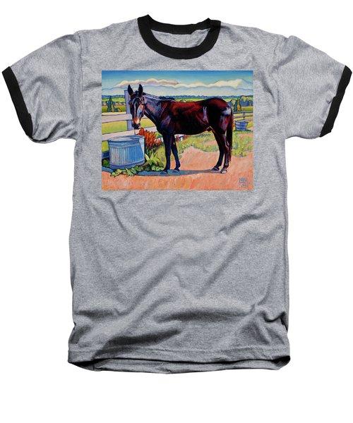 Wetting His Whistle Baseball T-Shirt