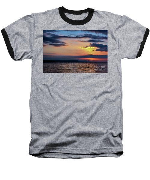 Weymouth Esplanade Sunrise Baseball T-Shirt