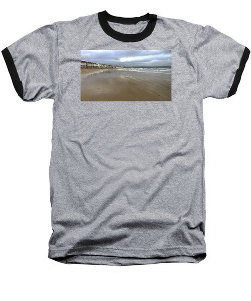 Weymouth Morning Baseball T-Shirt by Anne Kotan