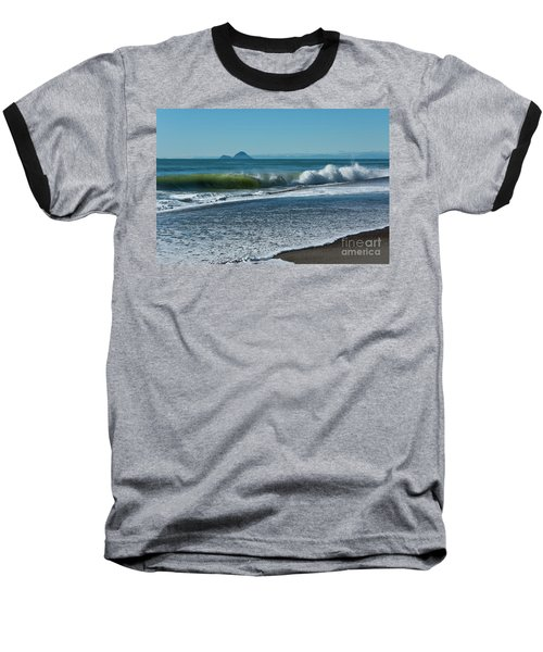 Baseball T-Shirt featuring the photograph Whale Island by Werner Padarin