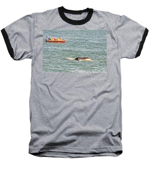 Whale Tail Baseball T-Shirt