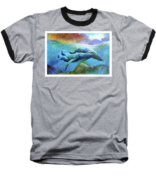 Whale Watch Baseball T-Shirt