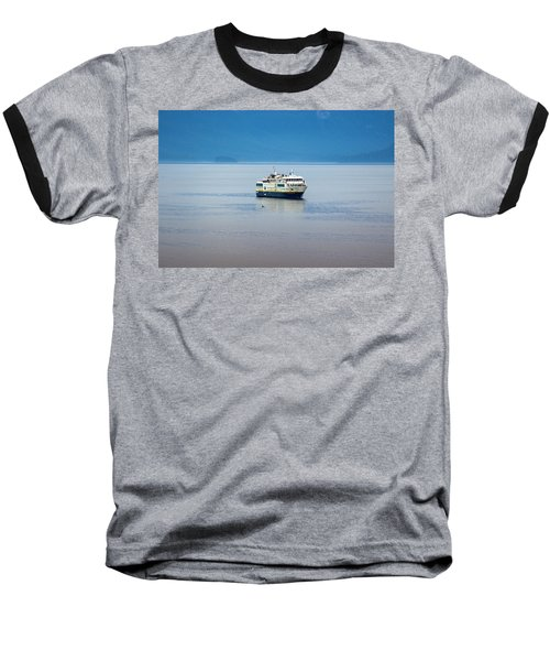 Whale Watching In Glacier Bay Baseball T-Shirt