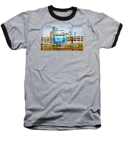 Whales In The City Baseball T-Shirt