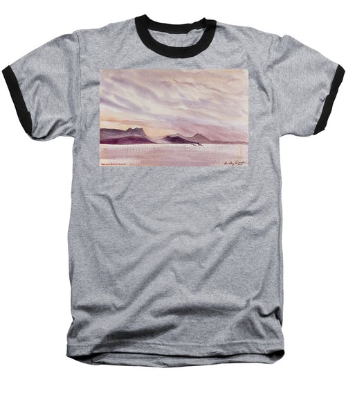 Whangarei Heads At Sunrise, New Zealand Baseball T-Shirt