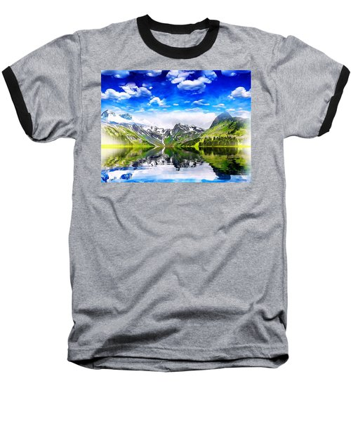 What A Beautiful Day Baseball T-Shirt by Gabriella Weninger - David
