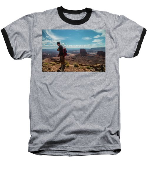 What A View Baseball T-Shirt