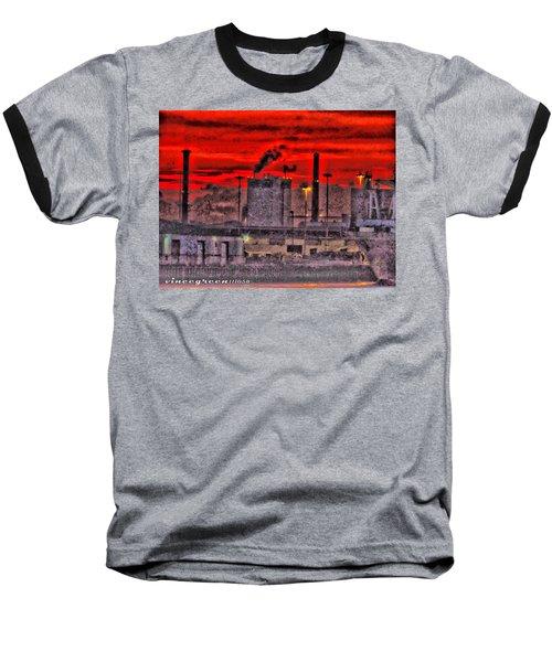 Port Of Savannah Baseball T-Shirt