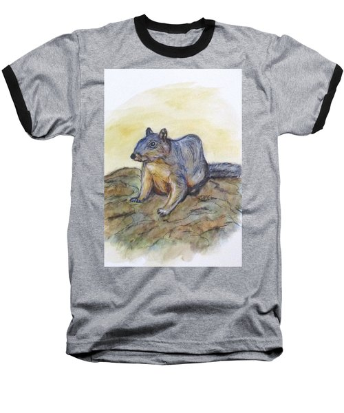 What Are You Looking At? Baseball T-Shirt by Clyde J Kell