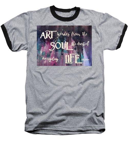 What Art Does Baseball T-Shirt