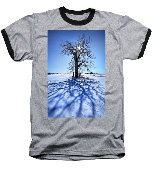 Baseball T-Shirt featuring the photograph What I Am, What I Was, What I Will Be by Phil Koch