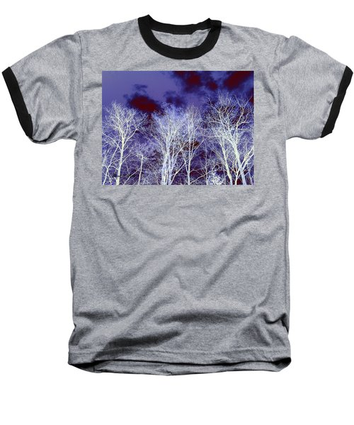 Baseball T-Shirt featuring the photograph What Lies Above by Shana Rowe Jackson