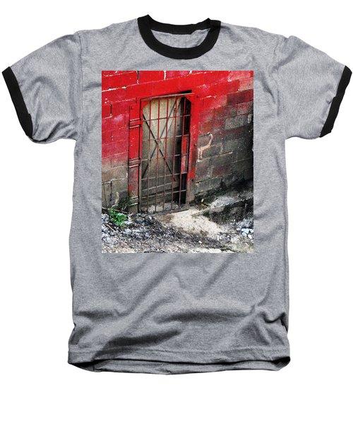What Lies Behind The Door Baseball T-Shirt