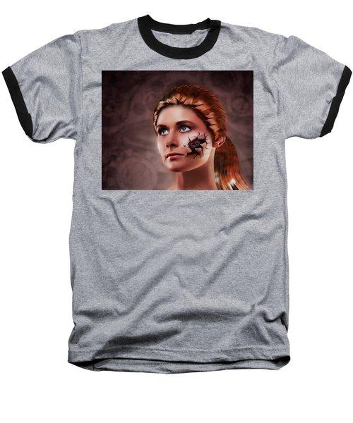 What Lies Baseball T-Shirt by Scott Meyer