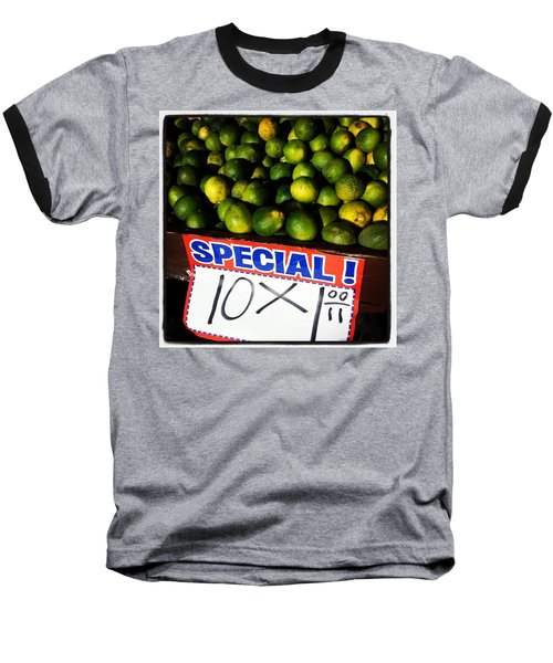Baseball T-Shirt featuring the photograph What Lime Shortage? #dontbelievethehype by Mr Photojimsf