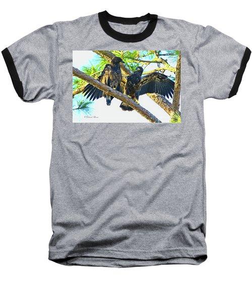 Baseball T-Shirt featuring the photograph What Shall I Say by Deborah Benoit
