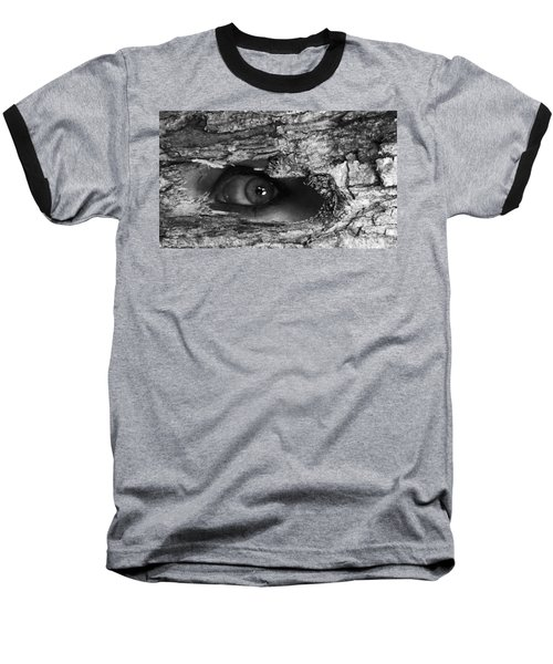 What The Forest Sees Baseball T-Shirt