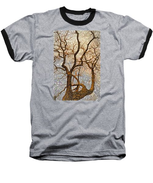 Baseball T-Shirt featuring the digital art What We See The Mind Believes by James Steele