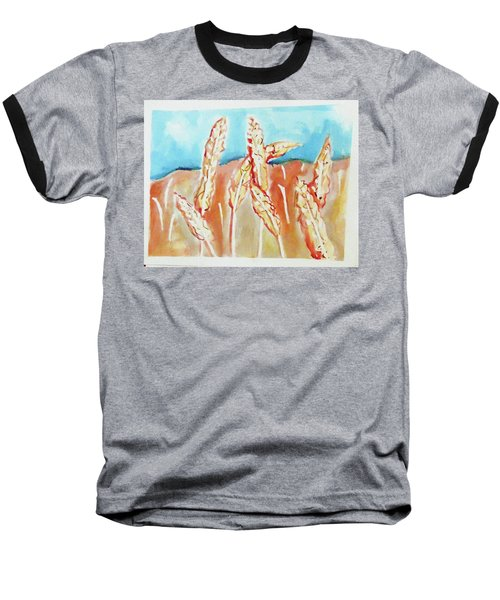 Wheat Field Baseball T-Shirt