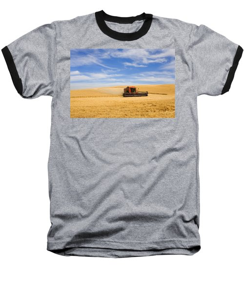Wheat Harvest Baseball T-Shirt