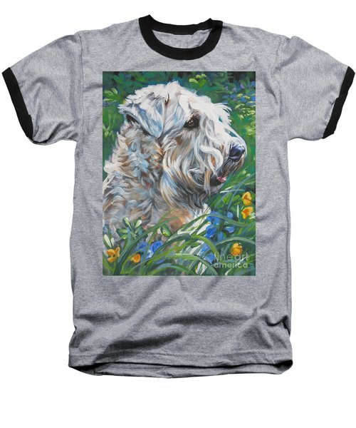 Wheaten Terrier Baseball T-Shirt