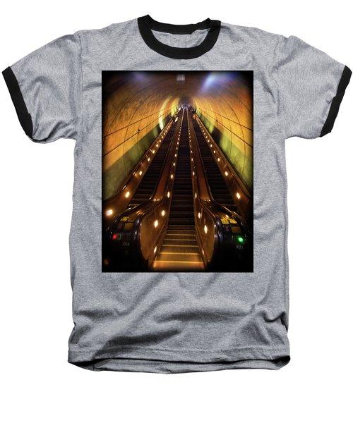 Wheaton Escalator Baseball T-Shirt