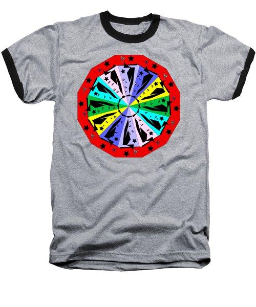 Wheel Of Color Baseball T-Shirt